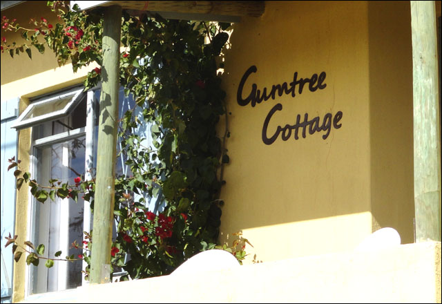 Gumtree Cottage front porch
